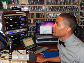 BennettKnows premieres first show on 90.3FM WRIU. (October 2014)