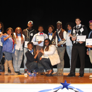 BennettKnows hosts Zeta Phi Beta's 'Are You Mr. Zeta?' (November 2014).