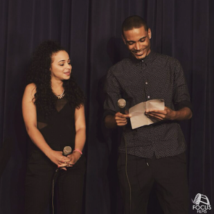 BennettKnows hosts Shea High School's '6th Annual Fashion Show' with Katherine Barbosa (May 2015).