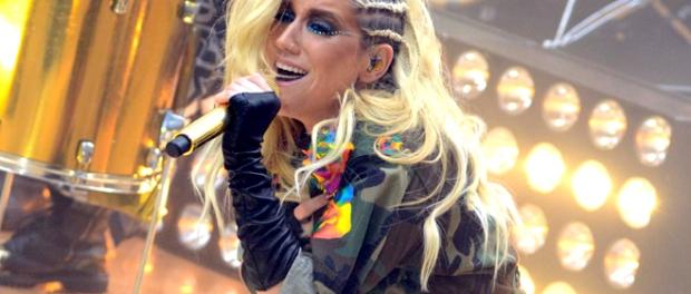Kesha, Ke$ha performs on the Today Show, NYC