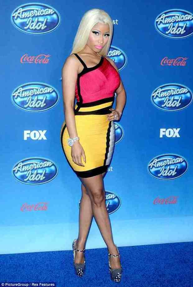 """Nicki Minaj Looks Great For 'American Idol' + Says That Her And Mariah Watched """"Sex Tape"""""""