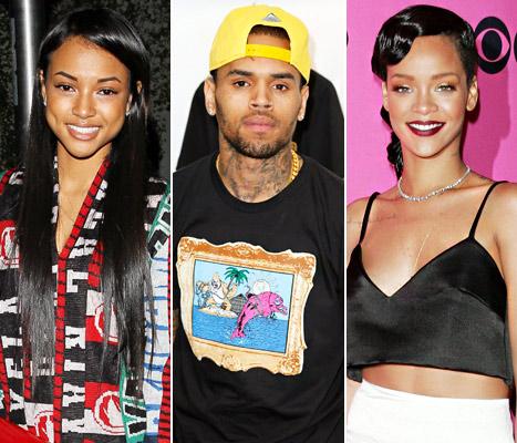Karrueche Speaks On Chris Brown and Rihanna's Relationship?