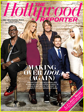 """'American Idol' Covers """"The Hollywood Reporter"""""""