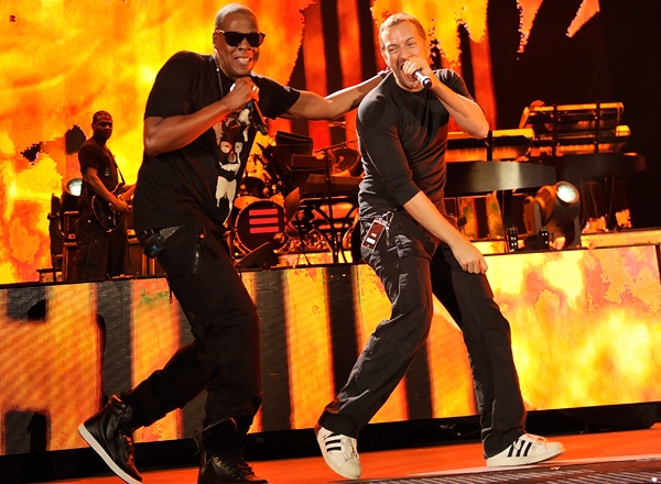 Watch Jay-Z and Coldplay Bring In The New Year!