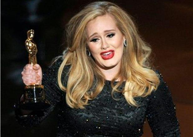 Adele Wins 2013 Oscar Award For %22SkyFall%22