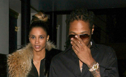 Ciara And Future Causes Paparazzi Frenzy When Out For A Dinner Date