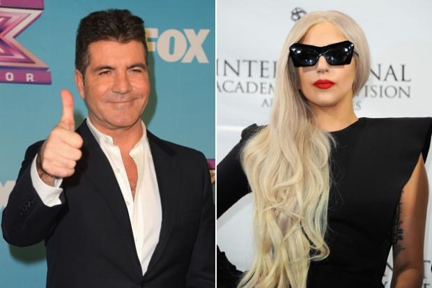 Simon Cowell Wants Lady Gaga For X Factor