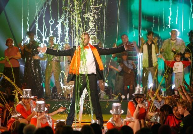 Justin Timberlake Gets SLIMED