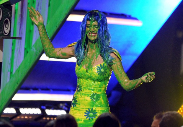 Katy Perry Shows Off Her SLIME
