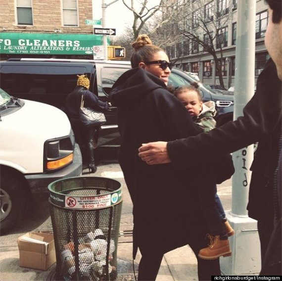 Beyonce, Jay Z and Blue Ivy Step Out For Lunch + Blue Is Getting Big!