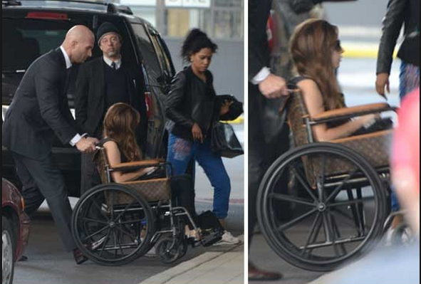Check Out Lady Gaga's Louis Vuitton Wheel Chair + What Did She Do For Her Birthday!