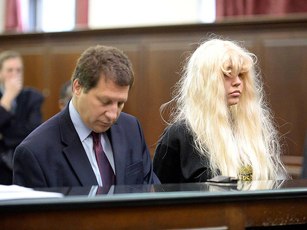 Amanda Bynes In Court