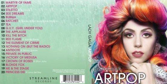 Lady Gaga - ARTPOP Leaks