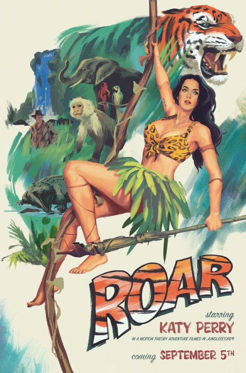 Katy Perry ROAR Teaser