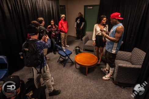 Becky More Prepares To Interview YG
