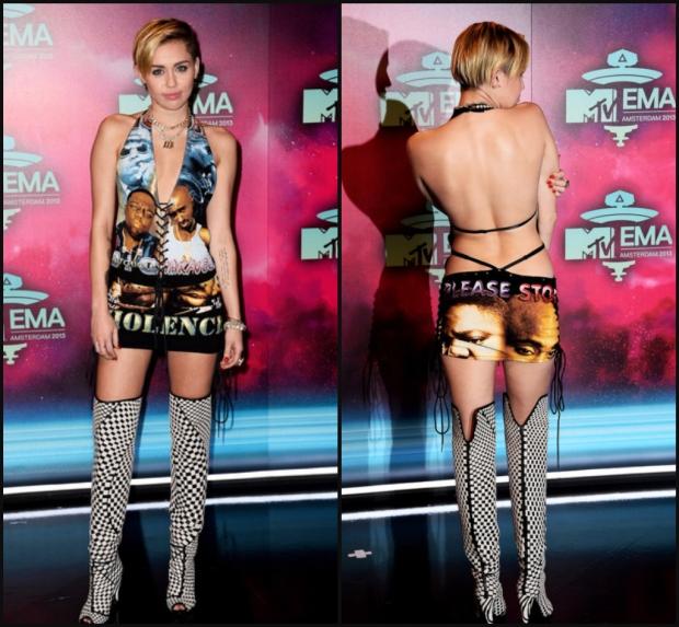 Miley Cyrus Kills The 2013 MTV EMAs
