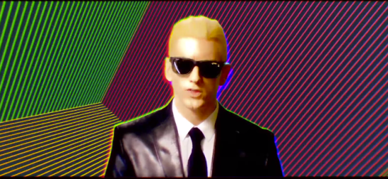 "Eminem Teases ""Rap God"" Video"