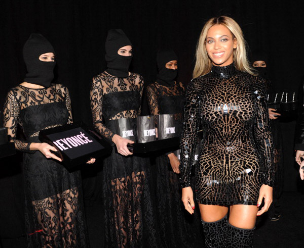 Beyonce at her New York Screening
