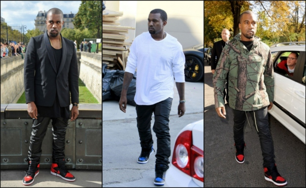Kanye West Loves Air Jordan 1s