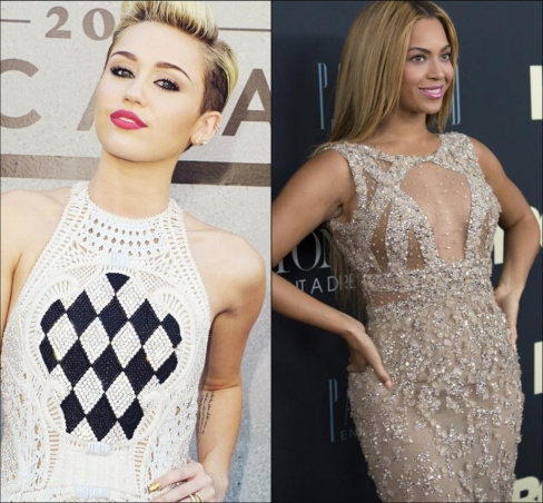 Miley Cyrus Disses Beyonce