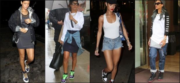 Rihanna Loves Air Jordan 1s