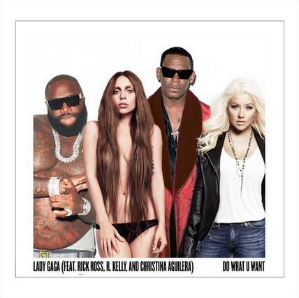"Lady Gaga - ""Do What U Want"" ft. R. Kelly, Rick Ross & Christina Aguilera"