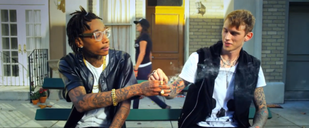 New MV- MGK - %22Mind Of A Stoner%22 ft. Wiz Khalifa