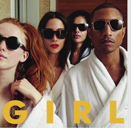 """Pharrell Williams - """"G I R L"""""""