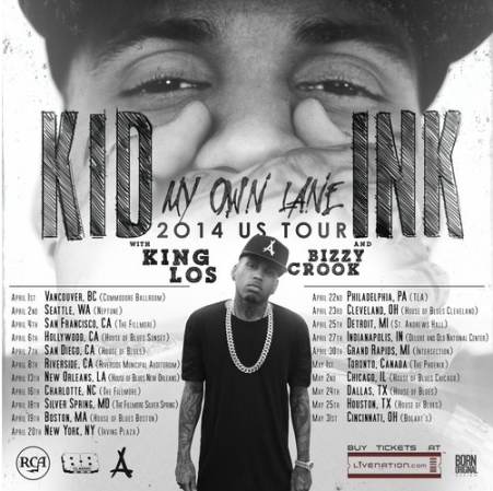"""New Music: Kid Ink - """"Woke Up This Morning"""""""
