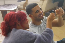 Drake And Rihanna Hit The Studio!