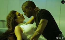 Behind The Scenes Of Kanye West And Kim Kardashian's 'Vogue' Cover