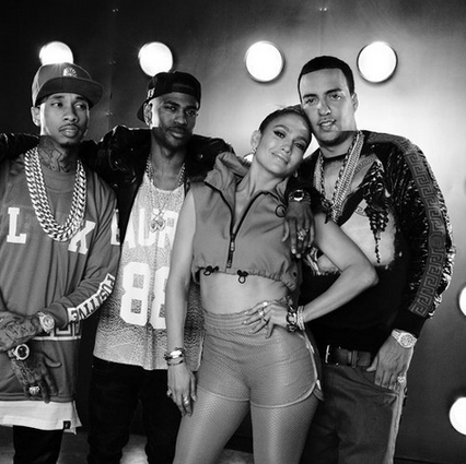"New Music: Jennifer Lopez - ""I Luhh You Papi (Remix) ft. French Montana, Big Sean & Tyga [Listen]"