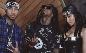 "Tyga, Lil Wayne & Nicki Minaj Get Crazy In ""Senile"" Video"