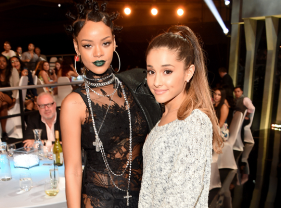 Rihanna Throws Major Shade On Ariana Grande [Watch]