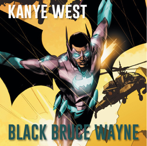 "New Leak: Kanye West - ""Black Bruce Wayne"" [Snippet]"
