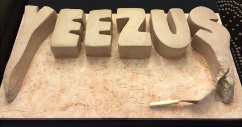 'Yeezus' Birthday Cake