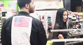 Drake Brings Nicki Minaj To The Convenient Store [Watch]
