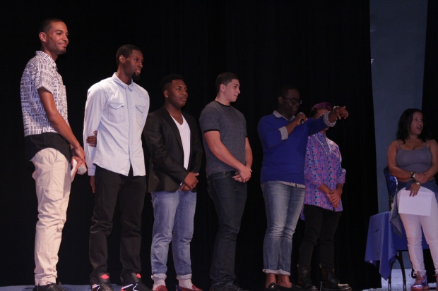 "While the talent competition, in which the contestants rapped, sang, recited poetry, tap danced and freestyle, was fun, the Q&A proved each contestant honorable and deserving of the title ""Mr. Zeta""."