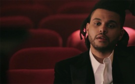 "Go Behind The Scenes Of The Weeknd's Seductive ""Earned It"" Video"