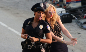 Iggy Azalea & Jennifer Hudson Play Cops And Robbers In Trouble