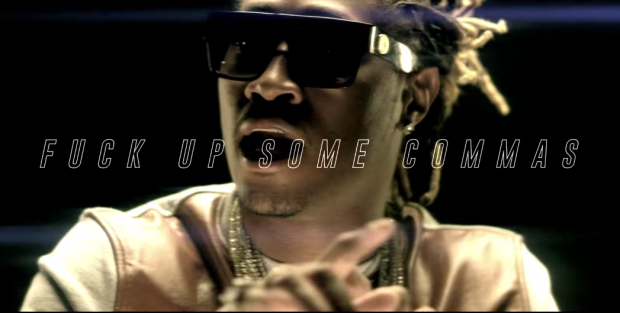 """Future Turns Blazes In """"F*ck Up Some Commas"""""""
