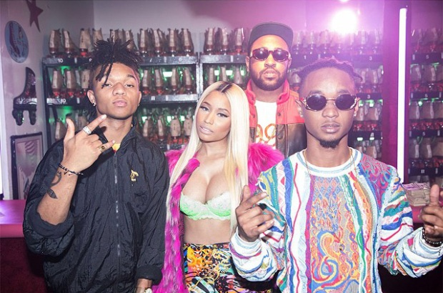 "Rae Sremmurd, Nicki Minaj & Young Thug Hit The Skating Ring In ""Throw Sum Mo"""