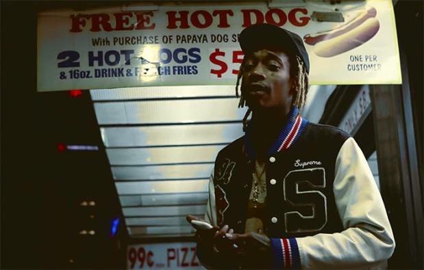 Wiz Khalifa Raps Over Marvin Gaye's