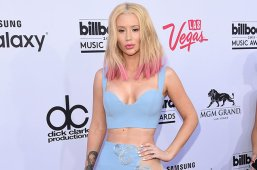 LAS VEGAS, NV - MAY 17:  Rapper Iggy Azalea attends the 2015 Billboard Music Awards at MGM Grand Garden Arena on May 17, 2015 in Las Vegas, Nevada.  (Photo by Jason Merritt/Getty Images)