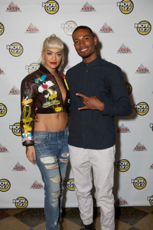 BennettKnows Attends HOT 97 'Up Close With Rita Ora' (September 2015).