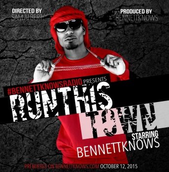 #BennettKnowsRadio kicks off Season 6 with 'Run This Town' theme. (October 2015)