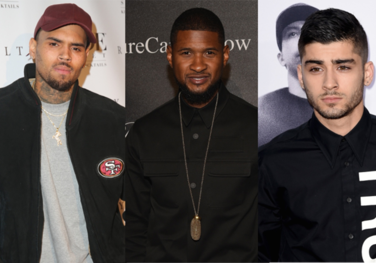 "New Music: Chris Brown Plugs In Usher & Zayn For ""Back To Sleep (Remix)"""