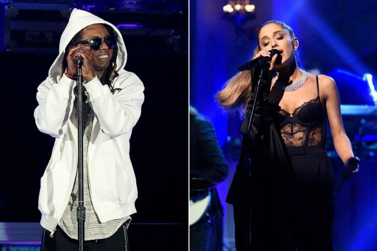 "New Music: Ariana Grande Plugs In Lil Wayne On ""Let Me Love You"""