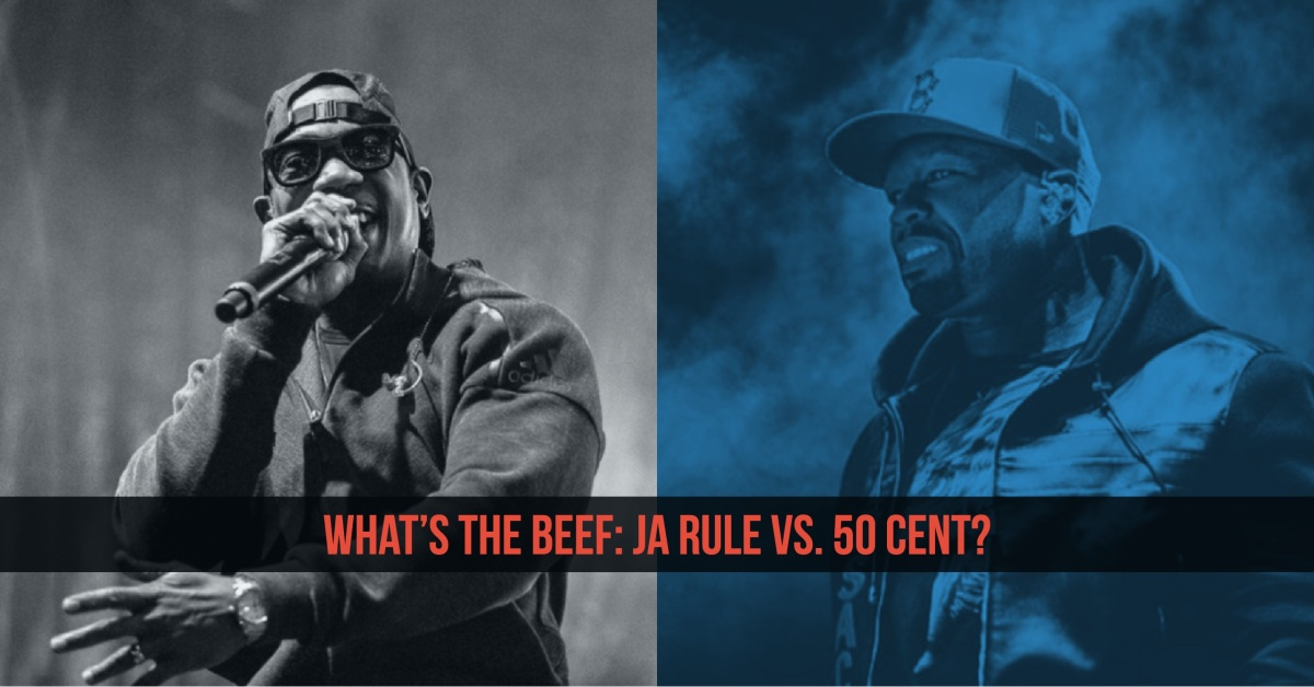 50 Cent Vs Ja Rule:  What's The Beef?