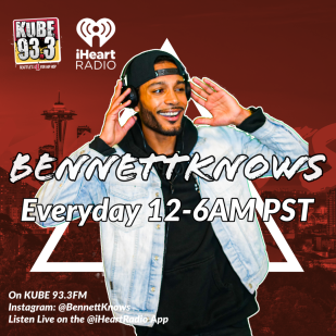 BennettKnows joins KUBE 93.3 Seattle's #1 for Hip-Hop (January 2020).